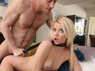 Fuck-punished by horny stepdad